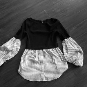 White House Black Market Twofer Sweater/Blouse